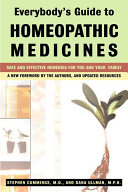 Everybody s Guide to Homeopathic Medicines