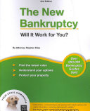 The New Bankruptcy PDF