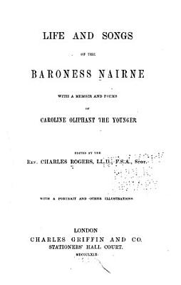 Life and Songs of the Baroness Nairne
