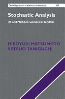 Stochastic Analysis PDF