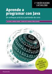 Aprende a programar con Java 2.ª edición