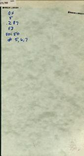 Verhandlungen der Zoologisch-Botanischen Gesellschaft in Wien: Volume50,Numéros5à7
