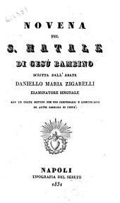 Novena pel S. Natale di Gesu Bambino scritta dall'Abate Daniello Maria Zigarelli