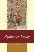 Aquinas on Beauty PDF