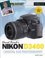 David Busch s Nikon D3400 Guide to Digital SLR Photography PDF