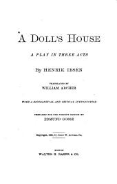 A Doll's House: A Play in Three Acts