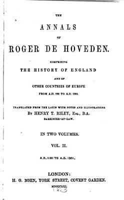 The Annals of Roger de Hoveden PDF