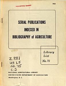 Library List PDF