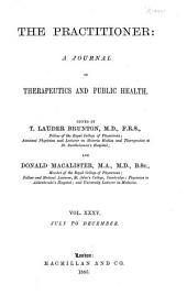 The Practitioner: Volume 35