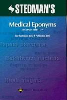 Stedman s Medical Eponyms PDF