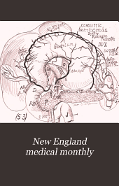 New England Medical Monthly: Volume 27, Issue 9