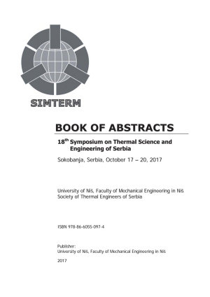 BOOK OF ABSTRACTS 18th Symposium on Thermal Science and Engineering of Serbia Sokobanja  Serbia  October 17     20  2017 PDF