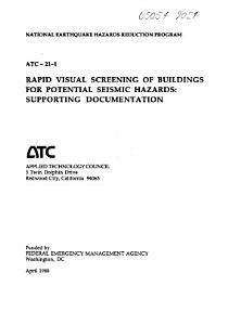 Rapid Visual Screening of Buildings for Potential Seismic Hazards PDF