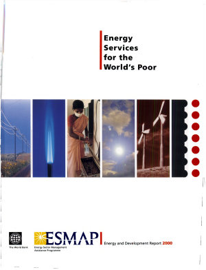 Energy Services for the World's Poor