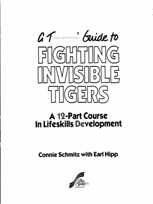 A Teacher s Guide to Fighting Invisible Tigers PDF