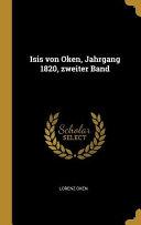 Isis Von Oken  Jahrgang 1820  Zweiter Band PDF