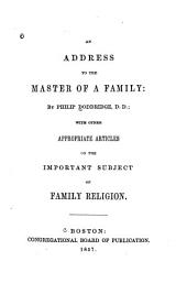 An Address to the Master of a Family