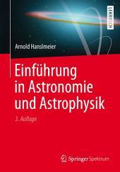 Einführung in Astronomie und Astrophysik: Ausgabe 3