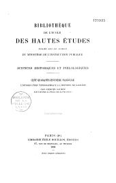 L'introduction topographique à l'histoire de Bagdâdh d'Aboû Bakr Ahmad ibn Thâbit Al-Khatib al-Bagdâdhi