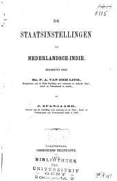De staatsinstellingen van Nederlandsch-Indië