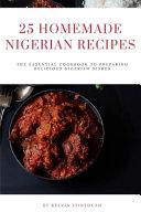 25 Homemade Nigerian Recipes PDF