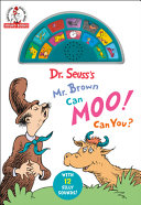 Mr  Brown Can Moo  Can You   a Dr  Seuss Sound Book