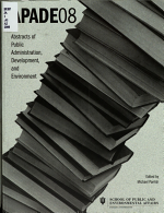 Abstracts of Public Administration  Development  and Environment PDF