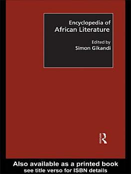 Encyclopedia of African Literature PDF