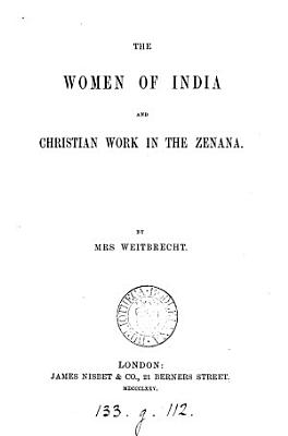The Women of India PDF