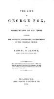 The Life of George Fox PDF
