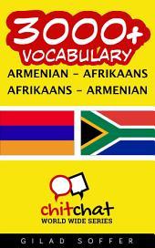 3000+ Armenian - Afrikaans Afrikaans - Armenian Vocabulary