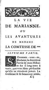 La Vie De Marianne, Ou Les Avantures De Madame La Comtesse De ***: Volume7