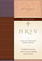 NRSV Catholic Edition Bible Anglicized  Old Testament PDF
