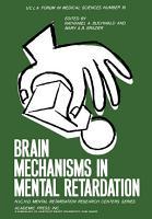 Brain Mechanisms in Mental Retardation PDF