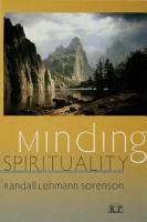 Minding Spirituality PDF