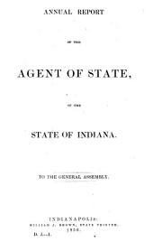 Documents of the General Assembly of Indiana at the ... Session: Part 1