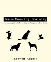 Common Sense Dog Training PDF