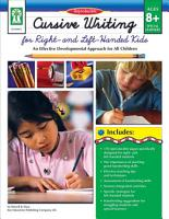 Cursive Writing for Right    Left  Handed Kids  Ages 8   13 PDF