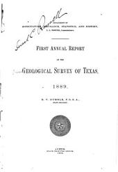 Annual Report of the Geological Survey of Texas