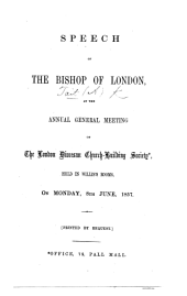 Speech ... at the Annual General Meeting of the London Diocesan Church-Building Society, held ... 8th June, 1857