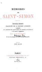 Mémoires de Saint-Simon: Partie2