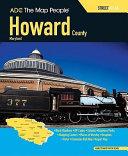 Howard County  Maryland Street Atlas