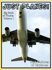 Just Planes! vol. 1: Big Book of Air Plane Photographs & Pictures