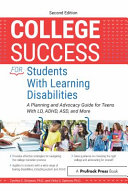 College Success for Students with Learning Disabilities PDF