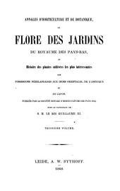 Flore des jardins: Volume3;Volume1860