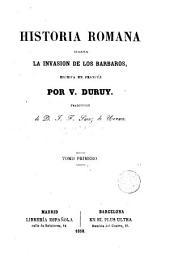 Historia romana hasta la invasión de los bárbaros, 1