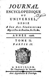 Journal encyclopédique ou universel: Volume 2,Parties 2 à 3