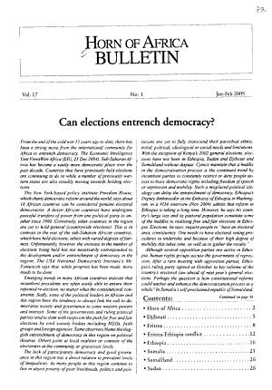 Horn of Africa Bulletin PDF