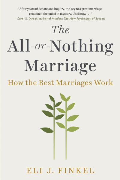 Download The All or Nothing Marriage Book