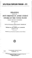 Hearings  Reports and Prints of the Joint Committee on Atomic Energy PDF